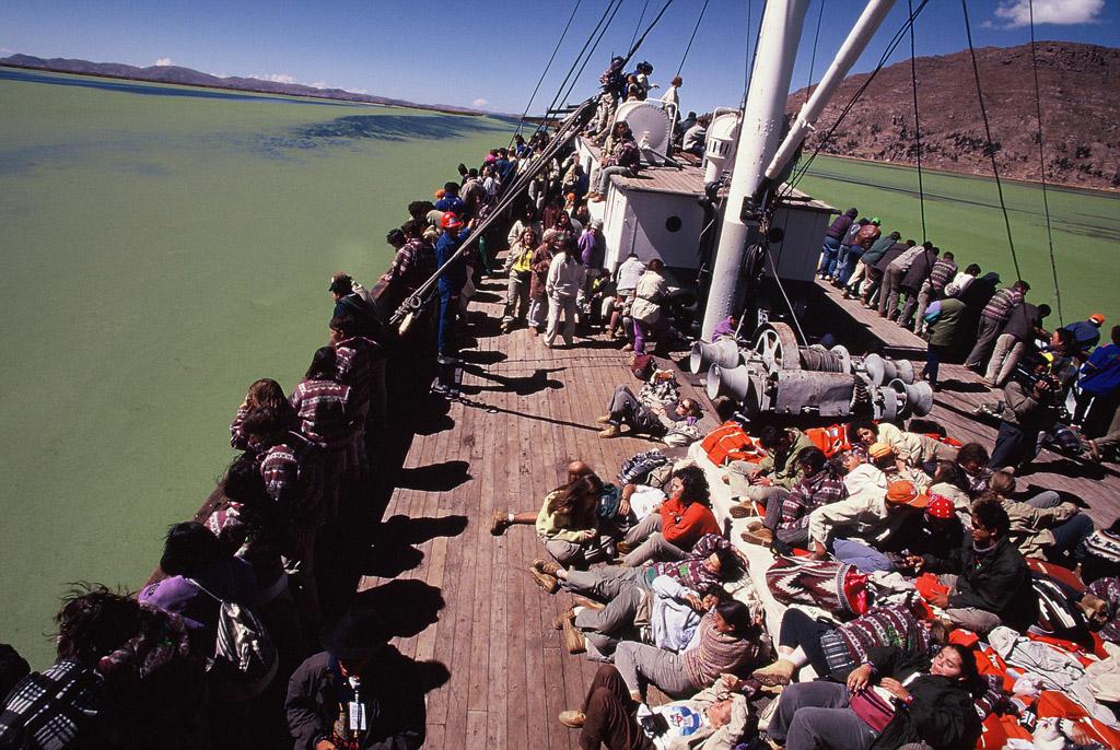 Panama Jack Ruta BBVA 1995: Expedición al mundo Inca